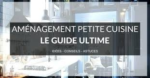 amenagement de cuisine equipee cuisine amenagee surface amacnagement cuisine le guide