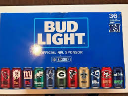 where to buy bud light nfl cans 2017 2017 nfl cans bud 32 team football sealed kickoff full light limited