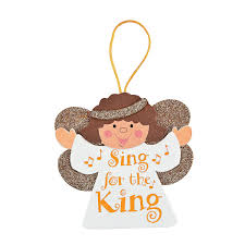 sing for the king angel ornaments craft kit craft kits ornament