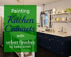 Paint Finishes For Kitchen Cabinets by How To Paint Kitchen Cabinets With Velvet Finishes Hometalk