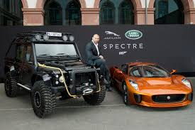 range rover modified red global unveiling of jaguar land rover bond cars digital news agency