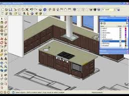 sketchup kitchen design sketchup kitchen design and sketchup kitchen design using dynamic component cabinets part 2