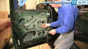 2000 dodge durango change how to install replace power window regulator dodge durango 98 03
