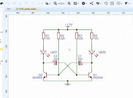 Build Your Own Flag Creating The Schematic Easyeda