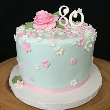 80th birthday cakes 80th birthday cake and cupcakes
