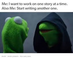 Writing Memes - my top 20 favourite memes about writing