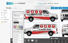commercial curb appeal vehicle graphics program