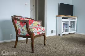 Reupholster Armchair Diy Reupholstered Barrel Chair Hometalk