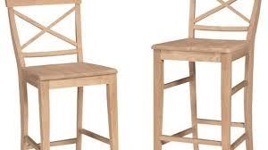 Unfinished Wood Bar Stool Unfinished Wood Bar Stools Furniture Ege Sushi Unfinished