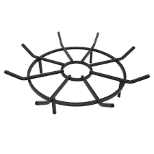 liberty foundry 16 in cast iron fireplace grate with 2 5 in legs