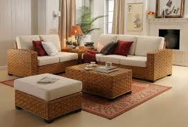 Modern Rattan Furniture Furniture Best Rattan Living Room Furniture Designs Sipfon Home