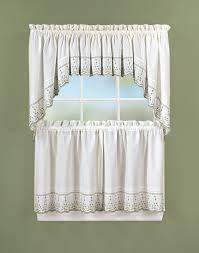 Curtains Set Abby 5 Kitchen Curtain Tier Set Curtainworks