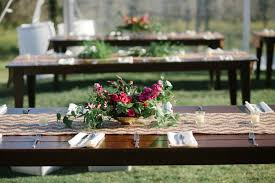 real event glam backyard wedding the simplifiers