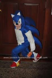 Sonic Halloween Costume Cool Sonic Hedgehog Costume Hedgehogs Costumes