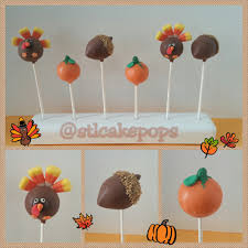 thanksgiving cake pops stlcakepops