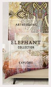 Elephant Bedding Twin 49 Best Elephant Inspired Bohemian Bedding Sets Indie Art Bedding