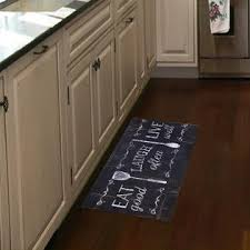 Anti Fatigue Kitchen Rugs Home Dynamix Designer Chef Eat Laugh Live 18 In X 30 In Anti