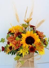 sunflower arrangements sunflower harvest fresh flower arrangement in troy mi della s