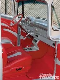 ford truck panels 1956 ford f100 truck upholstered leather interior