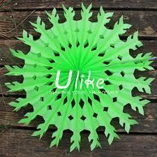 new design xmas craft paper fan wholesale christmas decoration