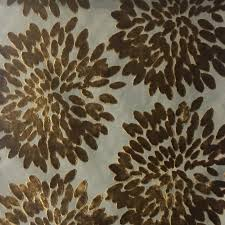 upholstery fabric florence fiori antique gold burnout velvet