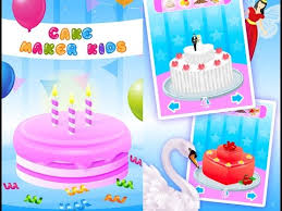 cake maker kids cooking game making a cake videos games for kids