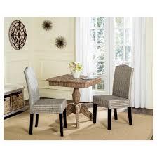 odette wicker dining chair set of 2 safavieh target