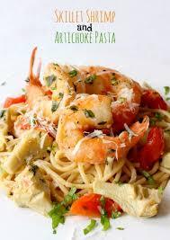 shrimp and artichoke casserole skillet shrimp and artichoke pasta mantitlement