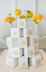 Baby Shower Decorations Yellow Grey U0026 Yellow Elephant Baby Shower Inspired By This