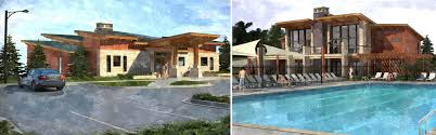Pool House Designs Clubhouse Architecture Design In Erie Colorado