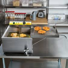 king dfc4400 25 lb funnel cake donut fryer 240v