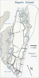Uga Map Marine Institute Sapelo Handbook Map