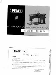 pfaff 90 manual seam sewing sewing
