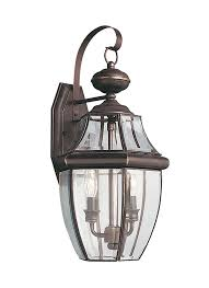 two light outdoor wall sconce 8039 71 two light outdoor wall lantern antique bronze