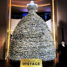 instead of a tree hysan place has a dress