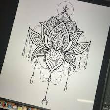 mandala tattoo zum aufkleben mandala lotus tattoo s pinterest tattoo ideen tattoo