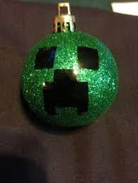 set of 6 minecraft creeper ornaments on etsy 5 99