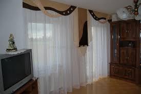 Wohnzimmerwand Braun Klassischer Wohnzimmer Vorhang Mit Seitenschal In Braun Champagner