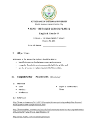 Drawing Conclusions Worksheets 4th Grade Semi Detailed Lesson Plan In English Grammatical Gender Semiotics