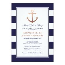 nautical baby shower invitations nautical invitations announcements zazzle
