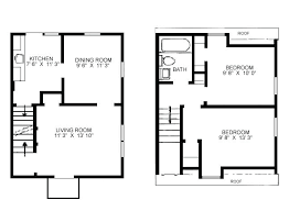free small house floor plans plan of small house small house floor plans square plan small