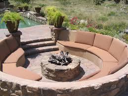 Backyard Fire Pit Design Ideas by Captivating Fire Pit Seating Area Design Pics Ideas Amys Office
