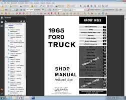 1965 ford truck shop manual ford motor company david e leblanc