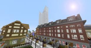 victorian terraced houses british structure minecraft project