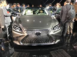 new lexus ls 2017 2017 lexus ls striking luxury flagship makes detroit debut evo