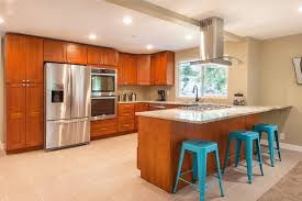 should you paint cherry cabinets co ordinate or contrast choose your with the paint to