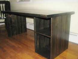 tables wood custom modern ebony computer desk amazing custom