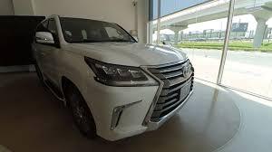 lexus used car showroom dubai lexus lx 570 platinum 2017 youtube
