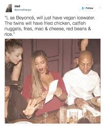 Beyonce Concert Meme - this beyoncé menu meme is the funniest thing you ll see all day