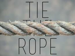Challenge Do You Tie Team Building Tie The Rope Our Stuff